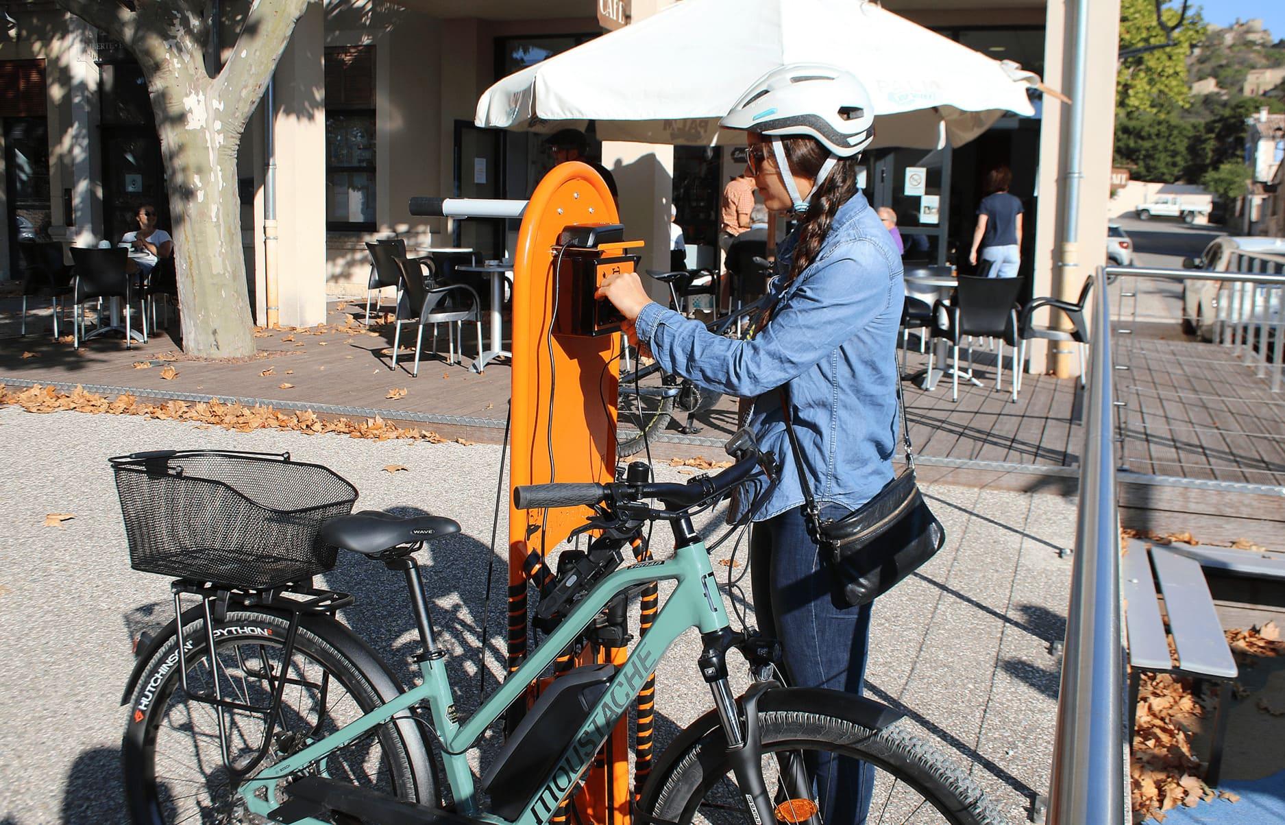 Abri de stationnement vélo Clairière