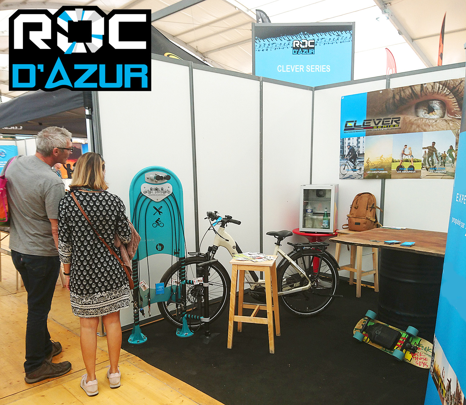 Roc d'Azur 2021 – Stand CLEVER Series